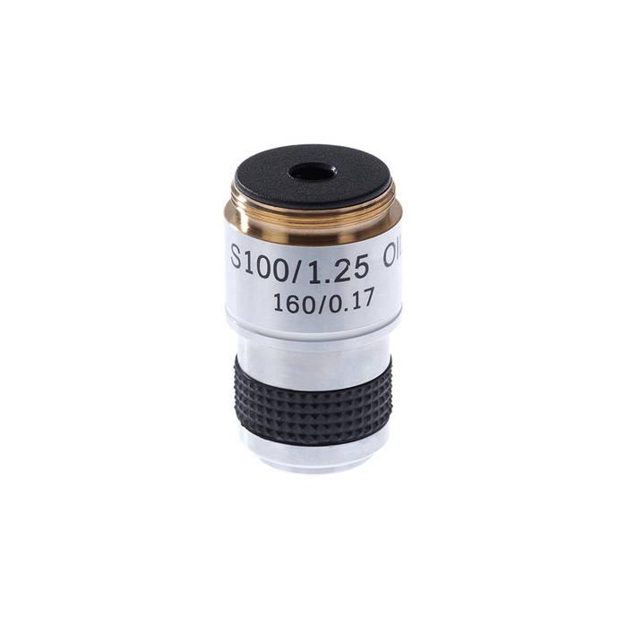 Микромед Объектив для микроскопа 100х/1,25ми 160/0,17 (стандарт RMS)